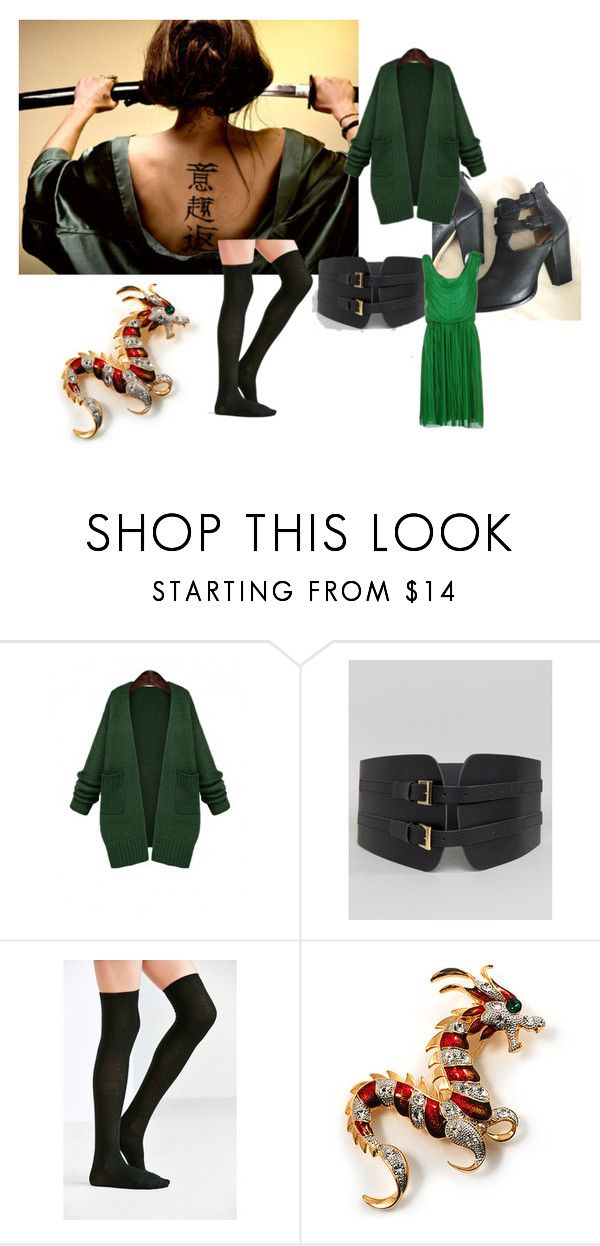 """Mulan as Ping"" by mandalinaqitrydewi on Polyvore featuring WithChic, ASOS, Urban Outfitters, Avalaya and Class Roberto Cavalli"
