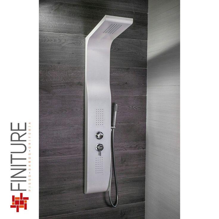 Regadera de Columna Vand #regadera #shower #bathroom #finiture
