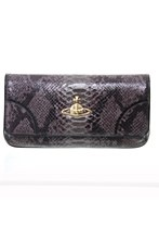 Vivienne Westwood Womens Bag Grey N/A frilly snake