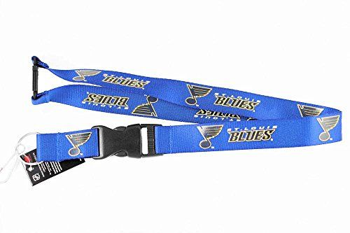 NHL St Louis Blues Team Logo Clip Lanyard Keychain Id Holder Ticket Holder  http://allstarsportsfan.com/product/nhl-st-louis-blues-team-logo-clip-lanyard-keychain-id-holder-ticket-holder/  Features St Louis Blues Clip logo. Materials: Metal detachable clip, nylon, plastic. Blue with logo on each side.