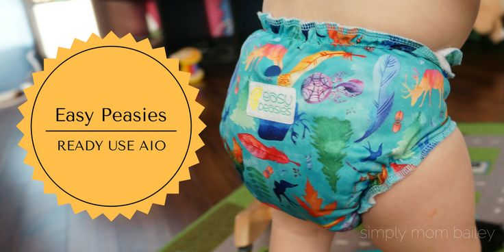 Easy Peasies Ready Use Cloth Diaper Review