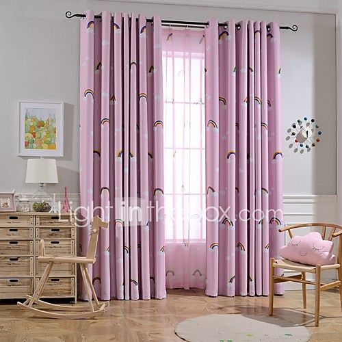 Two Panels European Minimalist Cartoon Style Children Room Living Room Bedroom Shade Curtains - JPY ¥4,616 ! HOT Product! A hot product at an incredible low price is now on sale! Come check it out along with other items like this. Get great discounts, earn Rewards and much more each time you shop with us!