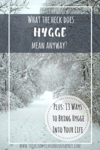 Hygge may be a word you have been hearing more and more lately. It is so big that the website visitDenmark.comhas a page specifically about the Danes and Hygge! But what the heck does it actually mean? And how do you pronounce it? I first started hearing about 'hygge', which is a Danish word pronounced 'hooga' that essentially means 'to be cozy', or 'coziness', while watching a documentary called 'Happy'. The filmmakers visitplaces and people all ove...