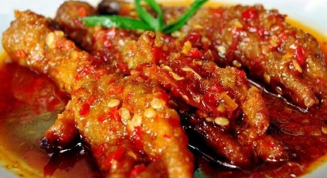 Spicy chicken legs ~ yummy