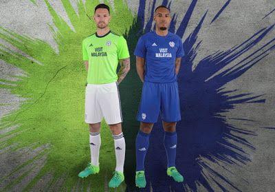 La nueva Primera Equipacion Camiseta Cardiff City 2017-18 baratas es azul con tres rayas de la marina de guerra en los lados de la camisa.