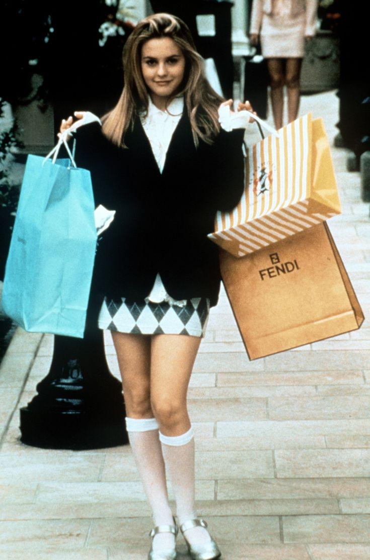 Alicia Silverstone en la película 'Clueless' (Fuera de onda) (1995)