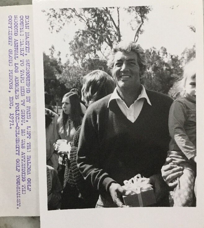 Dean Martin, Rare Candid 5X7 B&W PHOTO MUST SEE