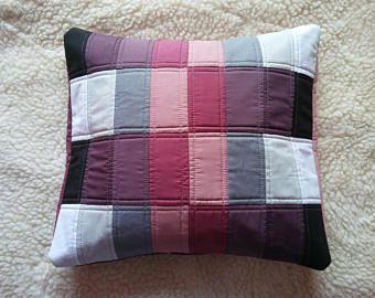 elegant cushioncover, striped pillowcase, quilted pillowcase, gradient motiv pillowcase