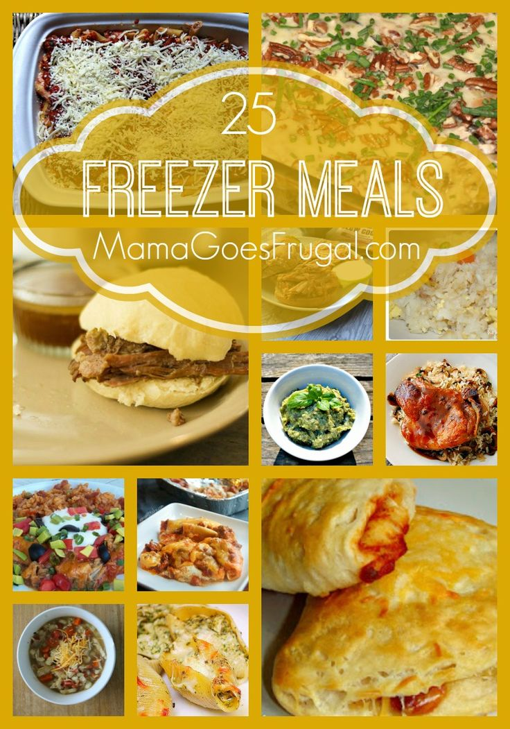 Save time in the kitchen with these delicious freezer meal recipes!