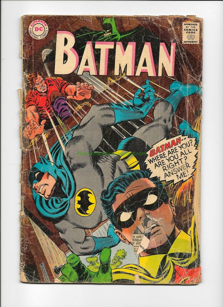 Comic Books For Sale: Batman 196