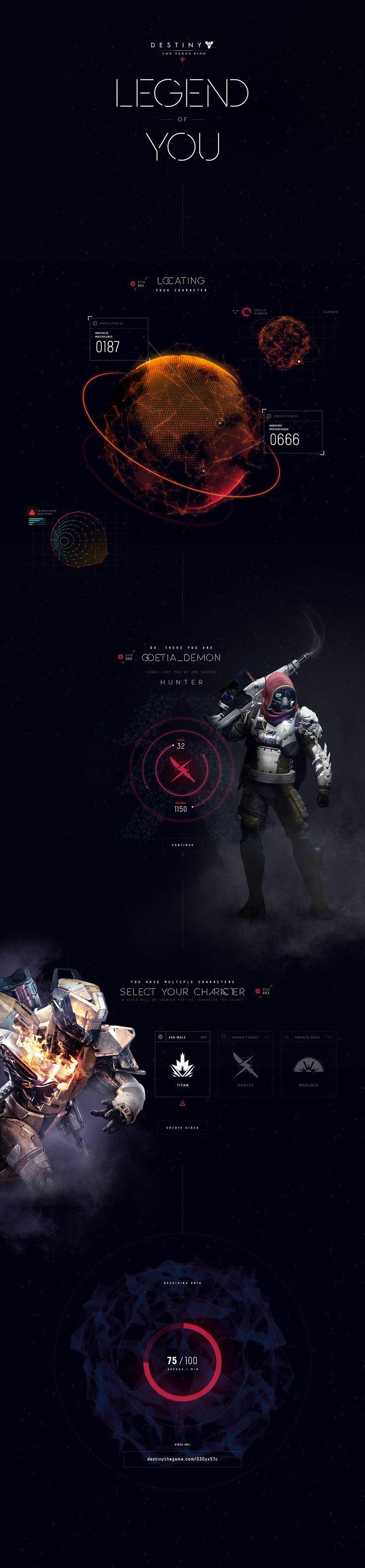 Destiny Legend of You on Behance