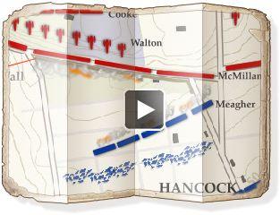 The Battle of Fredericksburg animated map Civilwar.org