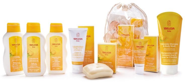 Weleda Calendula Baby Shampoo & Body Wash  Gentle on baba's skin