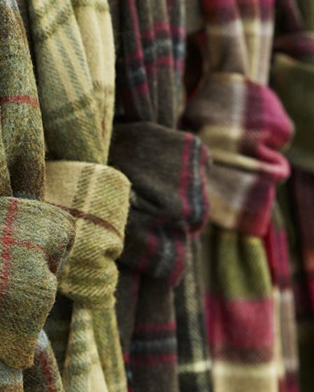 Lambswool Tartan Scarves. Just ordered one and a wool blanket. Hope they are as amazing as they look ~A~