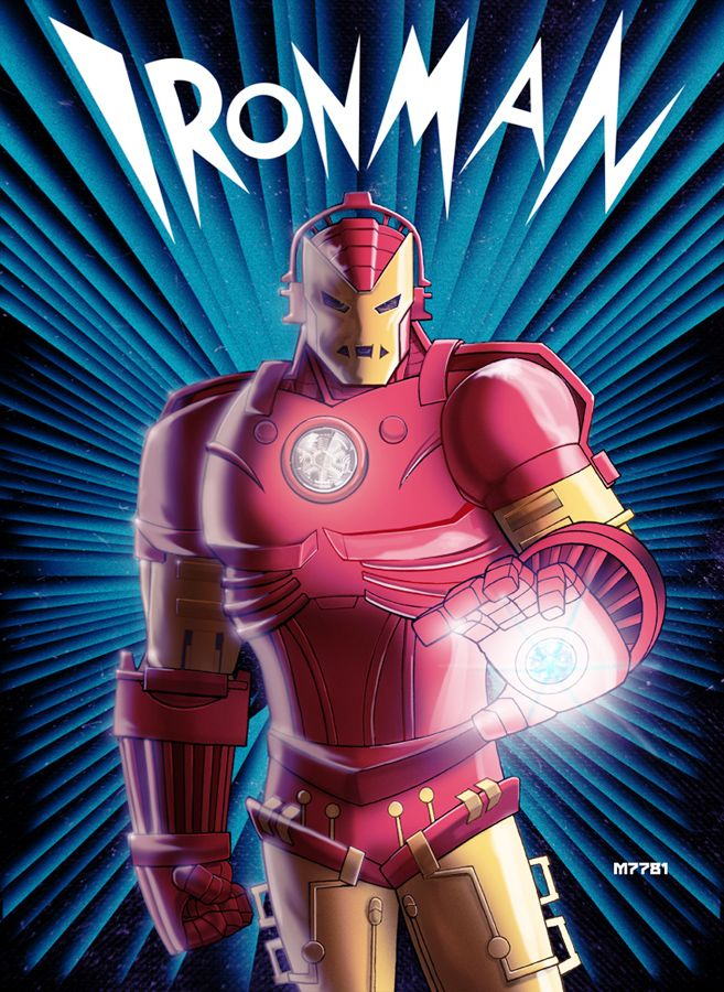1930s-style Iron Man: Avengers Iron Man, Irons, 1930S Style Iron, 1930S Iron, 1930 S Iron, Comic Book, Superheroes, Comic Art, Ironman