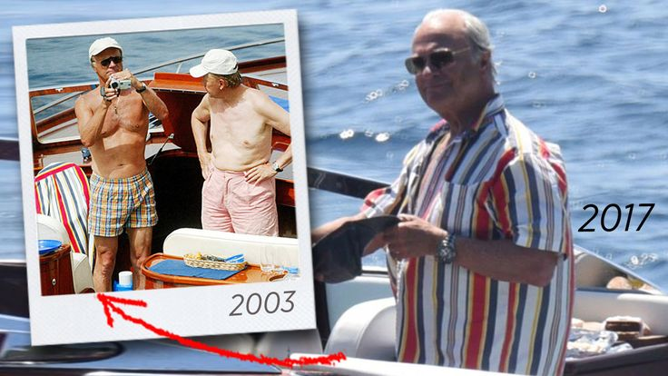 Aktuell!  ift.tt/2uYSzjm König Carl Gustaf – Wie hält ein Hemd 14 Jahre lang? … – Christine Maria Weismayer
