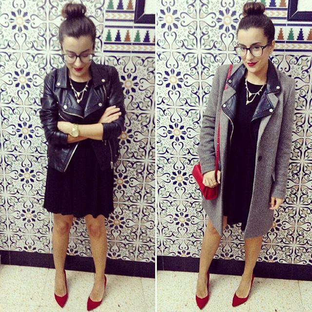 ❤ Paredes que molan mucho ❤ Vestido: @stradivarius (S/S15) Chaqueta: @pullandbear (A/W14) Abrigo: @zara (A/W15) Bolso: @aldo_shoes buy at @asos (A/W15) Zapatos: @bershkacollection (new) #whatiweartoday#today#hoy#estilo#style#stylish#partynight#nochedefiesta#partyfiesta#tonight#díaadía#daily#instadaily#lookdeldía#lookoftheday#totalblack#negro#black#lbd#littleblackdress#red#rojo##heels#tacones#redlips#labiosrojos#paredesmolonas#barcelona