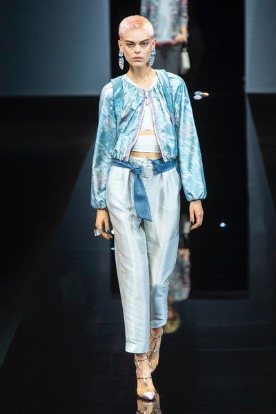 743aac73dda Giorgio Armani Spring 2019 Ready-to-Wear Fashion Show in 2019 ...