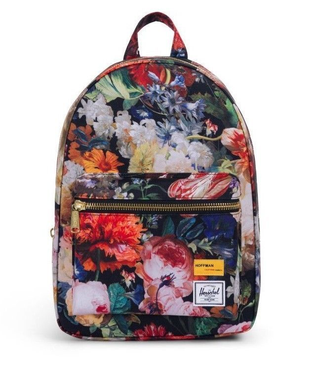 a4bb93ff784 Herschel Supply Co. Grove Backpack XS Fall Floral Hoffman Collection   Herschel  Backpack  Fall  Fashion  style  womensfashion  women  girl   flowers    cute ...