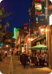 Downtown at Carlos O'Briens in Kamloops BC