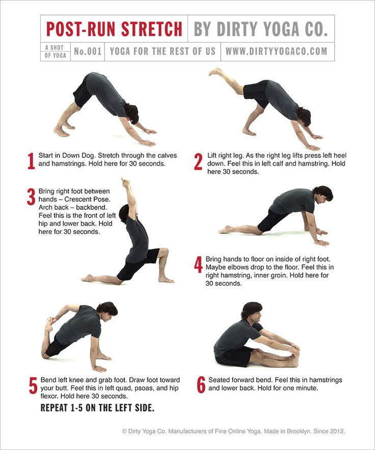 For all you Runners out there. A Post-Run Stretch