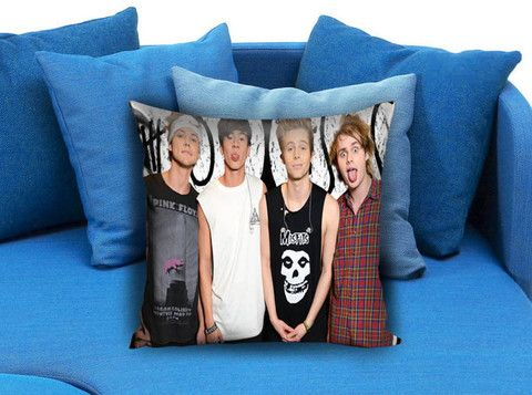 5SOS 5 Second of Summer Boy Band Pillow case #pillow #case #pillowcase #custompillow #custom
