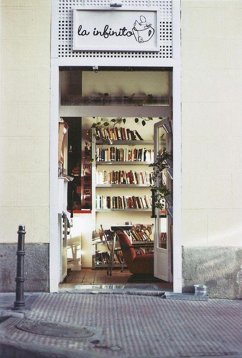 La Infinito, café-libros-arte, Madrid