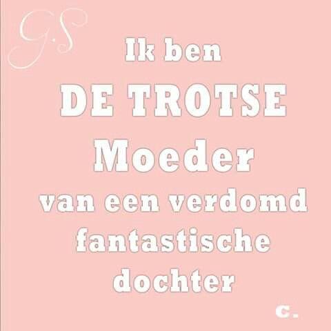 Ben trots, ben moeder. www.schattigebabykleertjes.nl