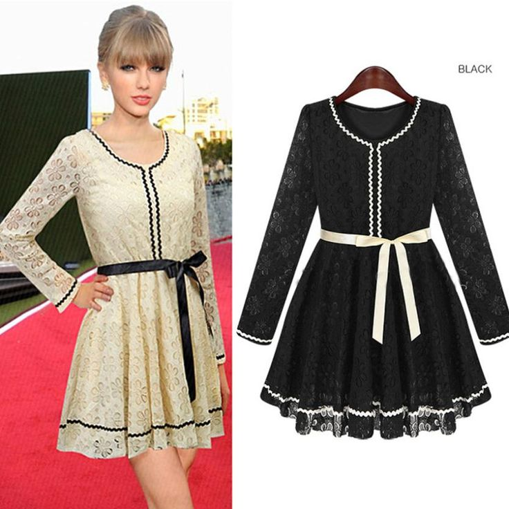 Find More Apparel & Accessories Information about 2014 New Autumn and Winter Long sleeve Lace Dress Women's Elegant OL Casual Dress Novelty Party Dresses Vestidos de festa S XL,High Quality Apparel & Accessories from Tina Fashion Woman Clothing Store on Aliexpress.com