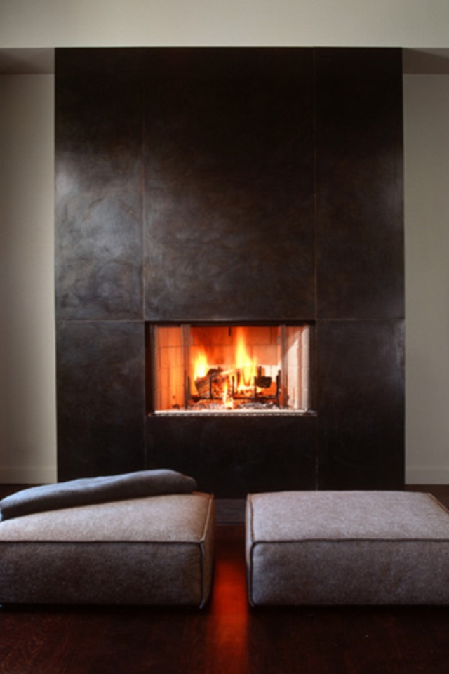 146 Best Images About Contemporary Fireplace Designs On Pinterest