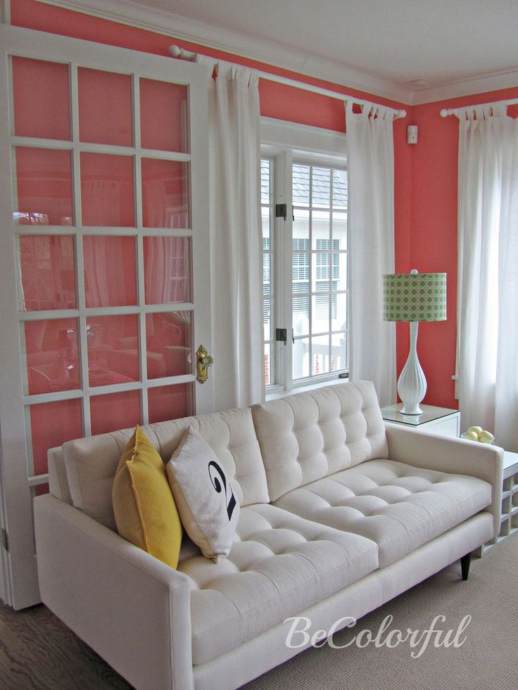 Best 25 Coral Accent Walls Ideas On Pinterest Coral