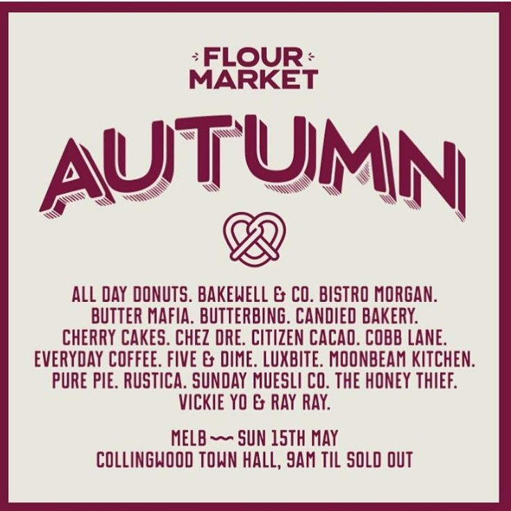 It's that time again! Come down to the Collingwood town hall this Sunday for the best Melbourne has to offer. We will be there with a huge lineup of flavours plus out @chaiboychai Bings!  #melbourne #melbournecoffee #melbournecafe #flourmarket #flourtothepeople #collingwood #collingwoodtownhall #eeeeeats #f52grams #butterbing