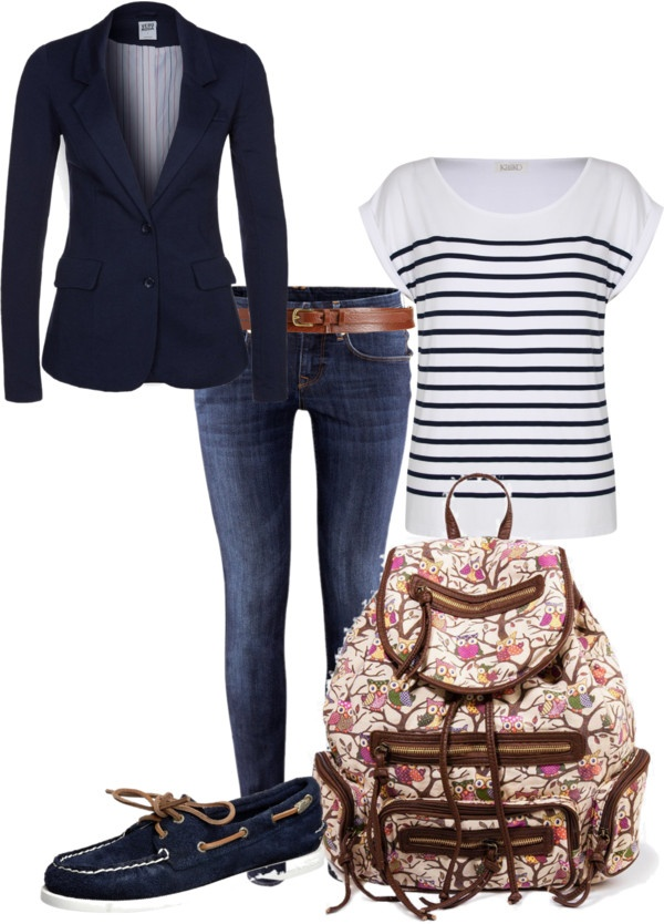 """school"" by ksyring on Polyvore"