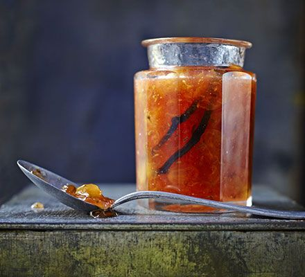 Gooseberry & vanilla jam. Preserve the unique, tart flavour of gooseberries in this summer preserve infused with sweet vanilla and tangy apple