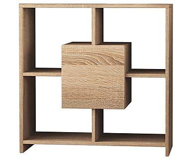 Консоль Sider - ДСП - текстура дерева, 80x80x30 см