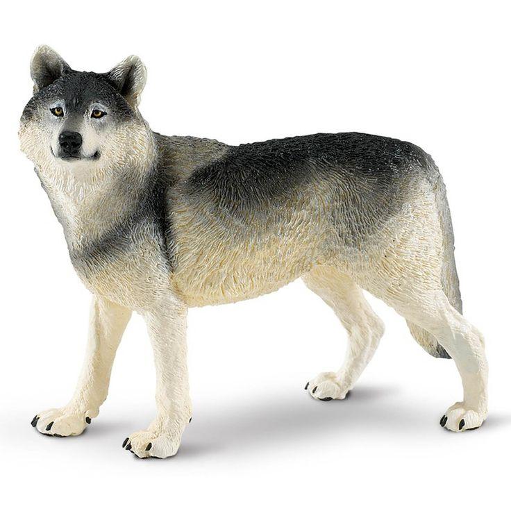 Grey Wolf Wildlife Wonders Figure Safari Ltd Animal