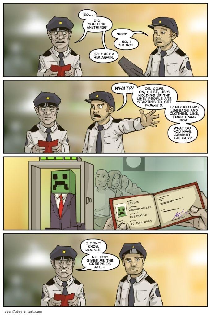 Funny Minecraft Comics | minecraft comic