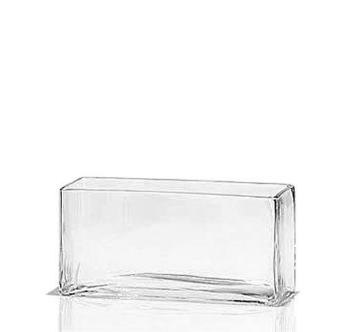 Rectangle Glass Trough Vase