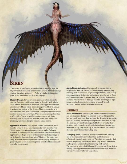 Siren #fantasy #fantasycreature #siren