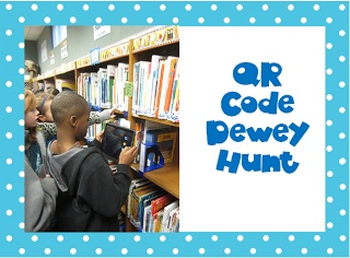 The Book Bug: QR Code Dewey Hunt. This would be really fun for teaching  Dewey in my library.