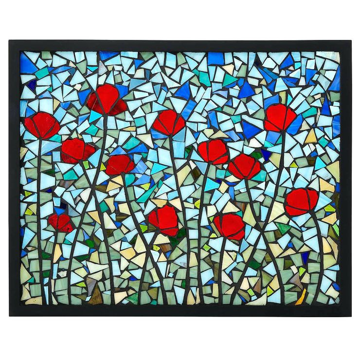 modern stained glass panels poppies stained glass panel stained glass art poppies stained glass panel 1 thumbnail stained glass