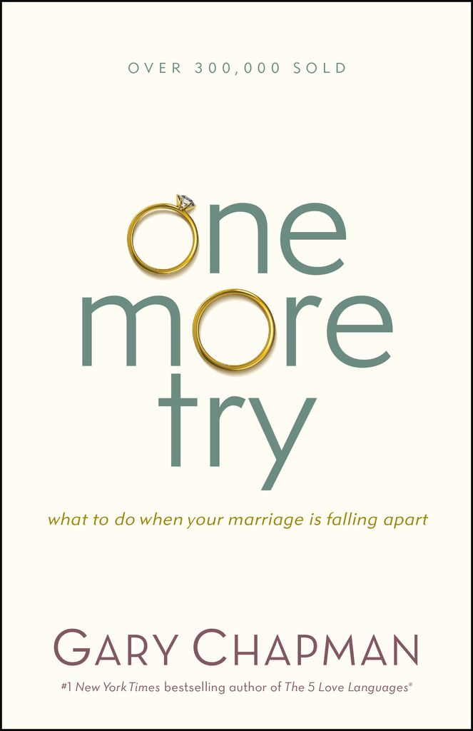 When doors slam and angry words fly, when things just aren't working out, and even when your spouse has destroyed your trust, there is still hope. If you feel like your marriage is near the breaking point, or even if you've already separated, Gary Chapman will show you how you can give your marriage one more try.One More Try will help you . . .Take the next step when blindsided in marriage;Discover healthy ways to manage frustration and anger;Effectively deal with loneliness;Renew hope and…