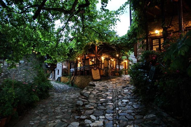 Old Agios Panteleimon, Greece.