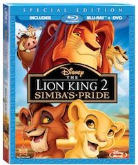 The Lion King 2: Simba's Pride Blu Ray this is my favorite one!!