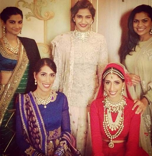 sonam kapoor wedding fashion width=