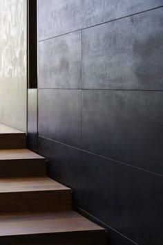 Image result for blackened steel wall panels