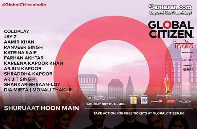 Coldplay and Demi Lovato to feature in Global Citizen Festival In India