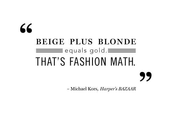 Michael Kors #Quote