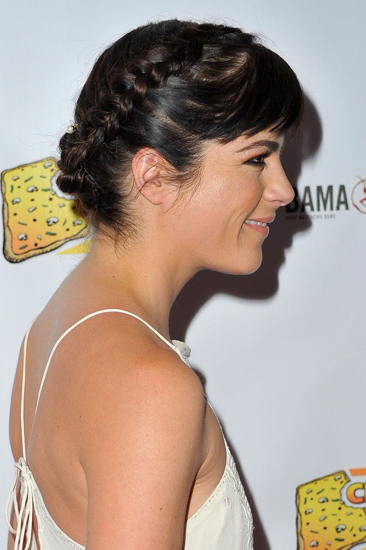 Pin for Later: Raise Your Summer Plait Game With These Celeb Hairstyles Selma Blair