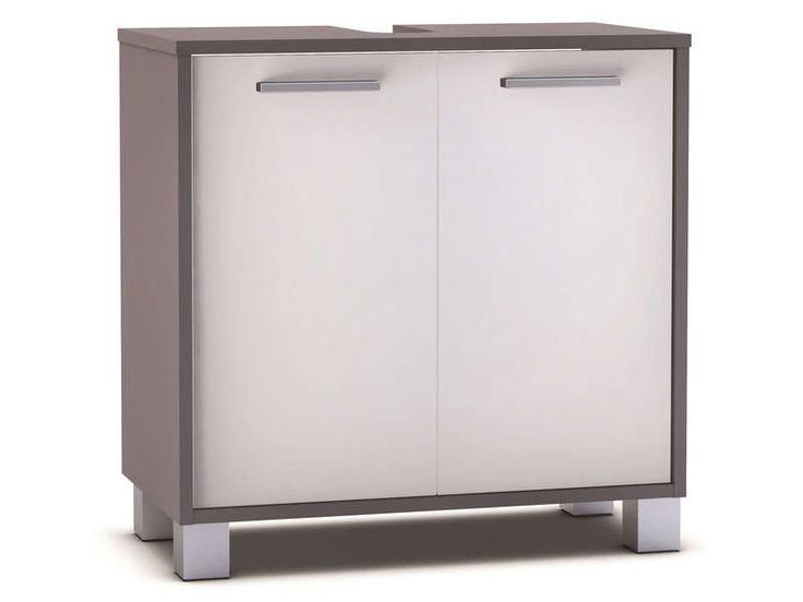 Meuble sous-lavabo 2 portes THAÏS - Vente de Meuble et rangement - Conforama